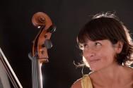 Ritratto di Chiara con il suo violoncello