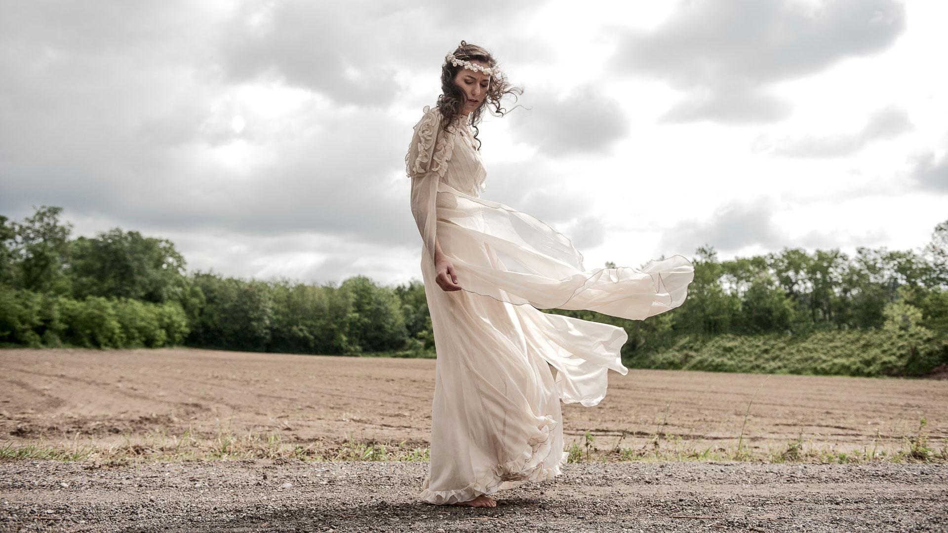 Sposa in cammino