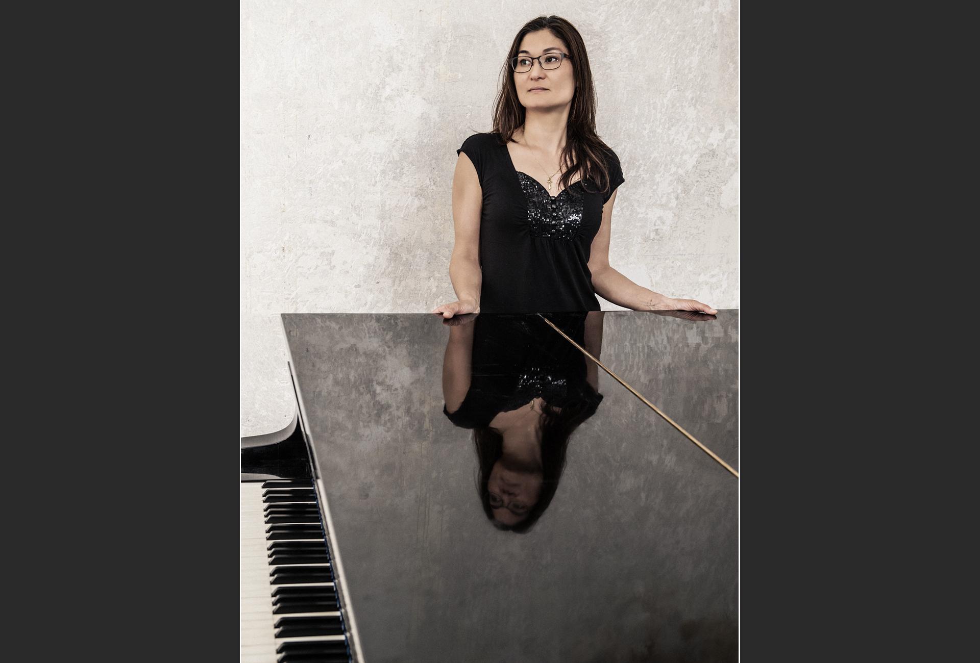 Ritratto di Véronique, pianista