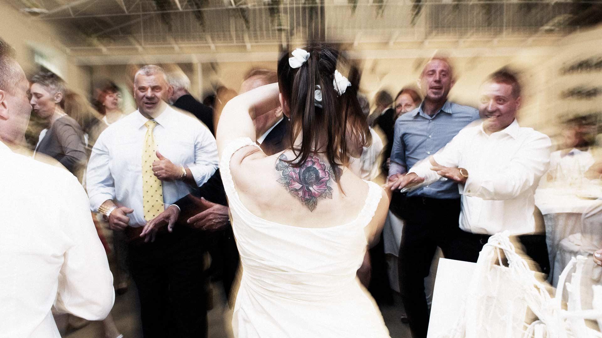 Festa e balli alla cascina Marianin